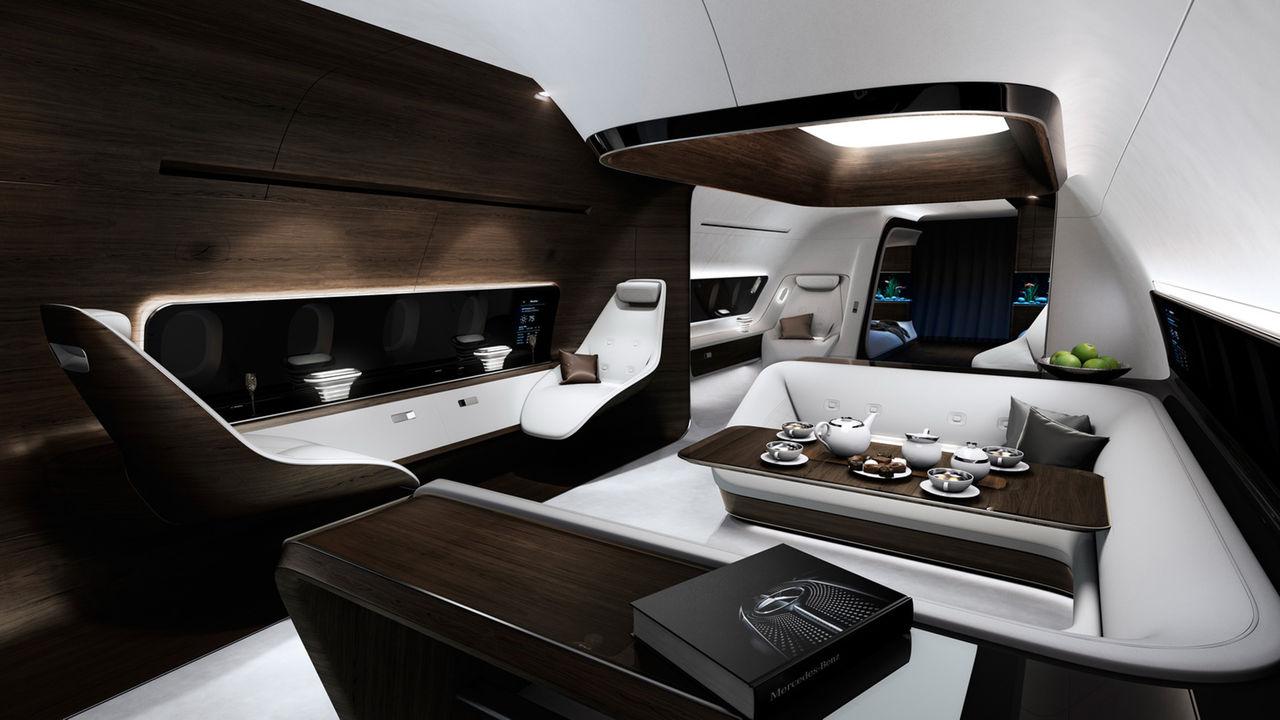 Exklusiv kabin för privatplan