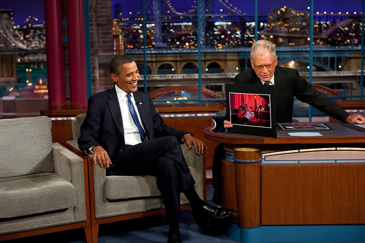 Kanal 5 Play sänder sista Letterman live
