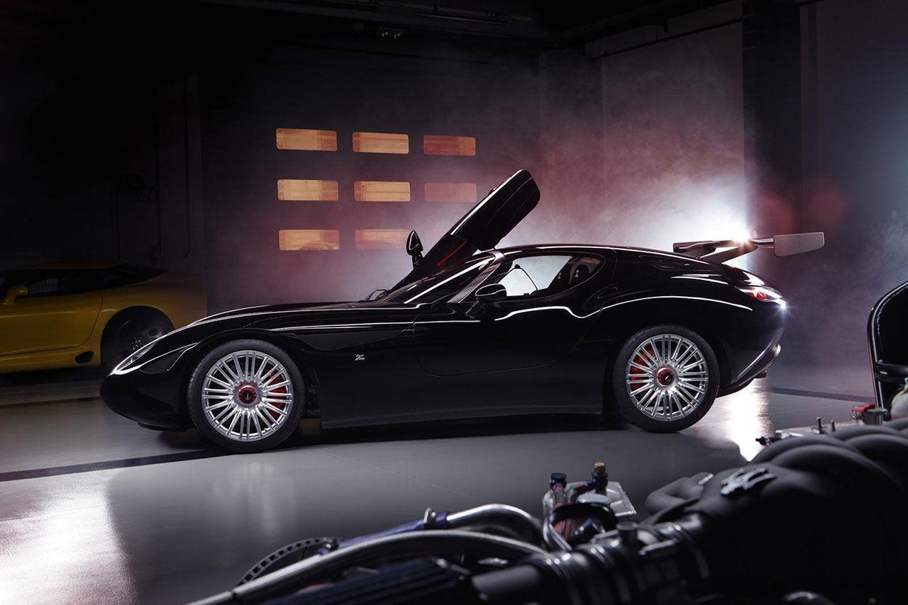 Zagato hyllar Maserati med racerbilen Mostro