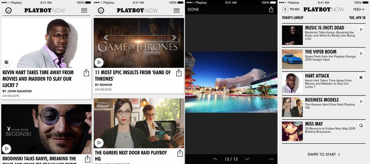 Playboy släpper nyhetsappen Playboy Now