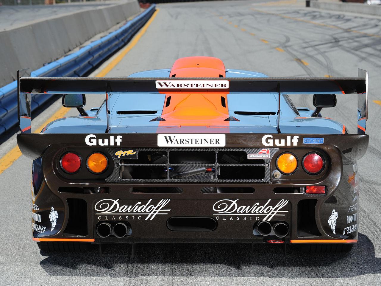 McLaren F1 GTR Longtail till salu
