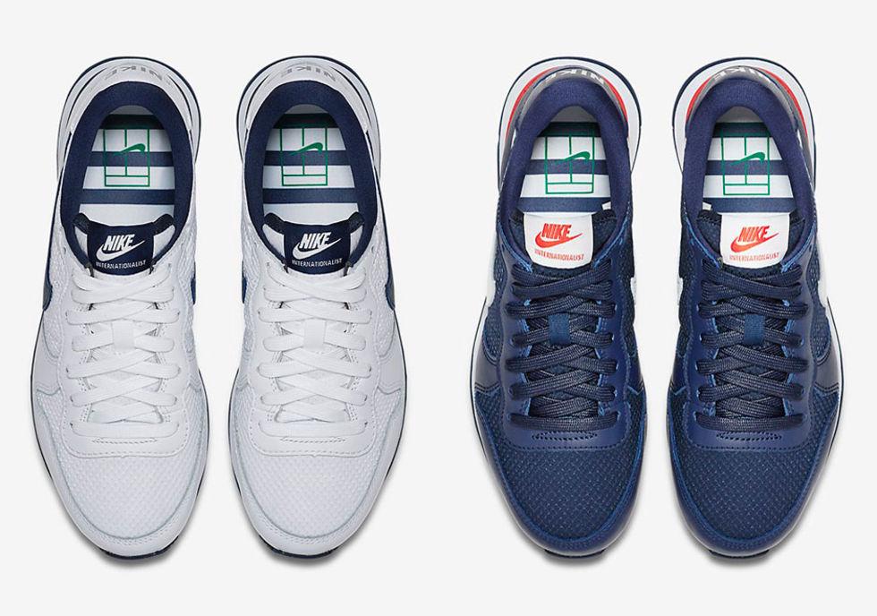 Nike hyllar Franska öppna