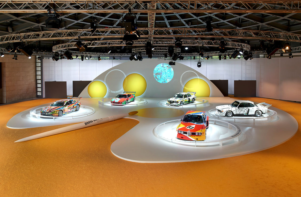 BMW:s konstiga konstbilar fyller 40 år