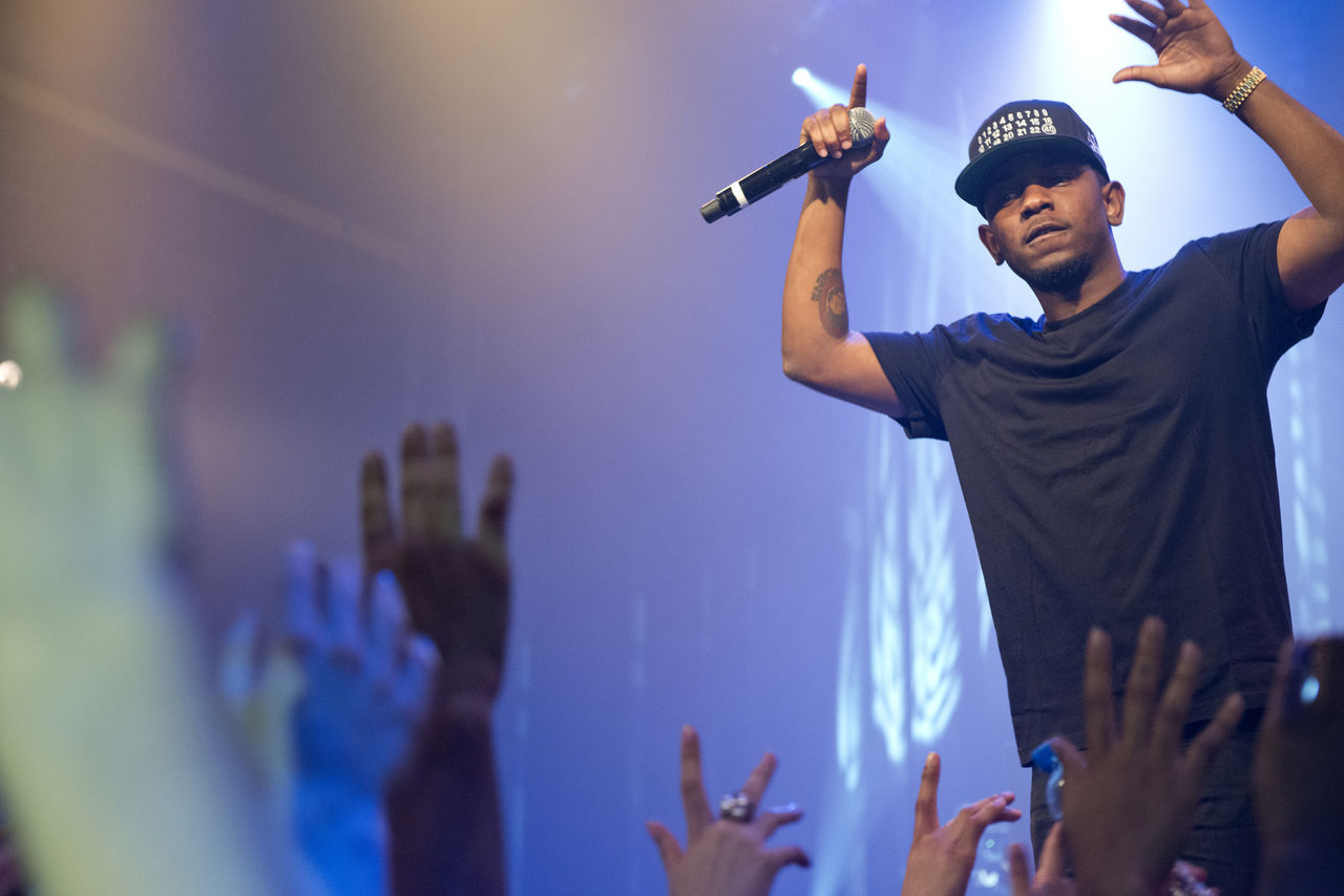 Kendrick Lamar hos Ellen