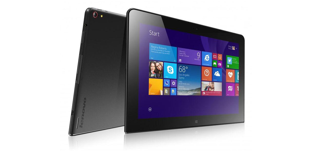 Lenovo jobbar på en ny ThinkPad 10
