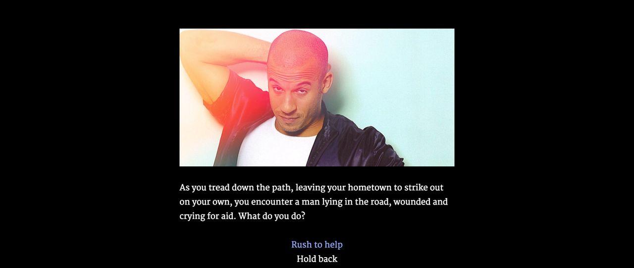 Låt Vin Diesel guida dig genom ett soloäventyr
