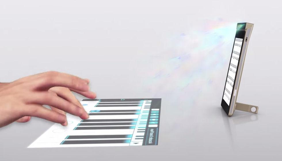 Lenovo tar fram mobiltelefon med inbyggd projektor