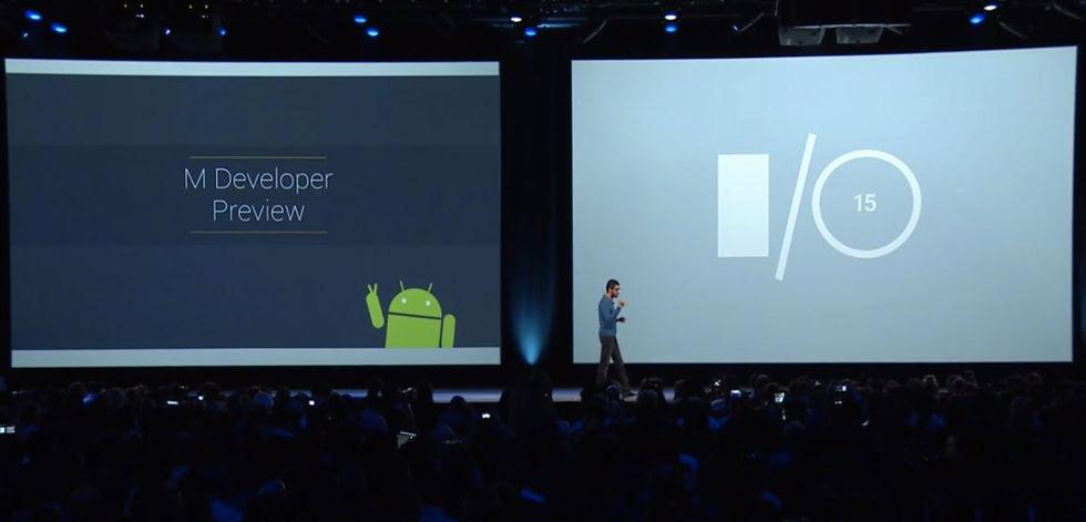 Google visar upp Android M