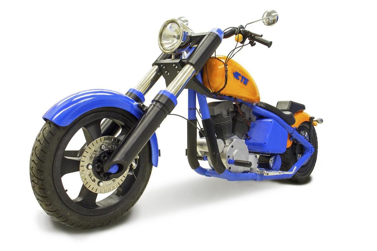 Harley-Davidson utskriven med 3D-skrivare