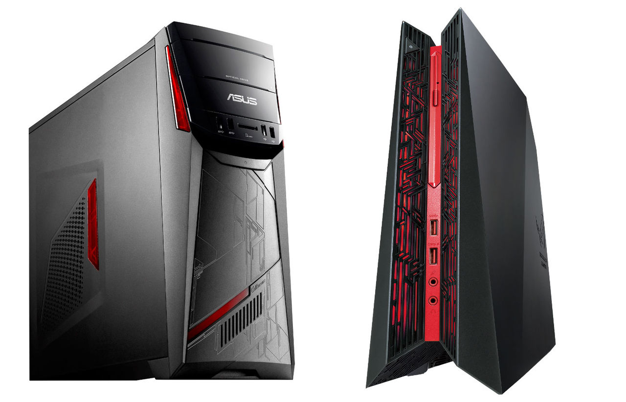Flera minidatorer och stationära datorer från ASUS