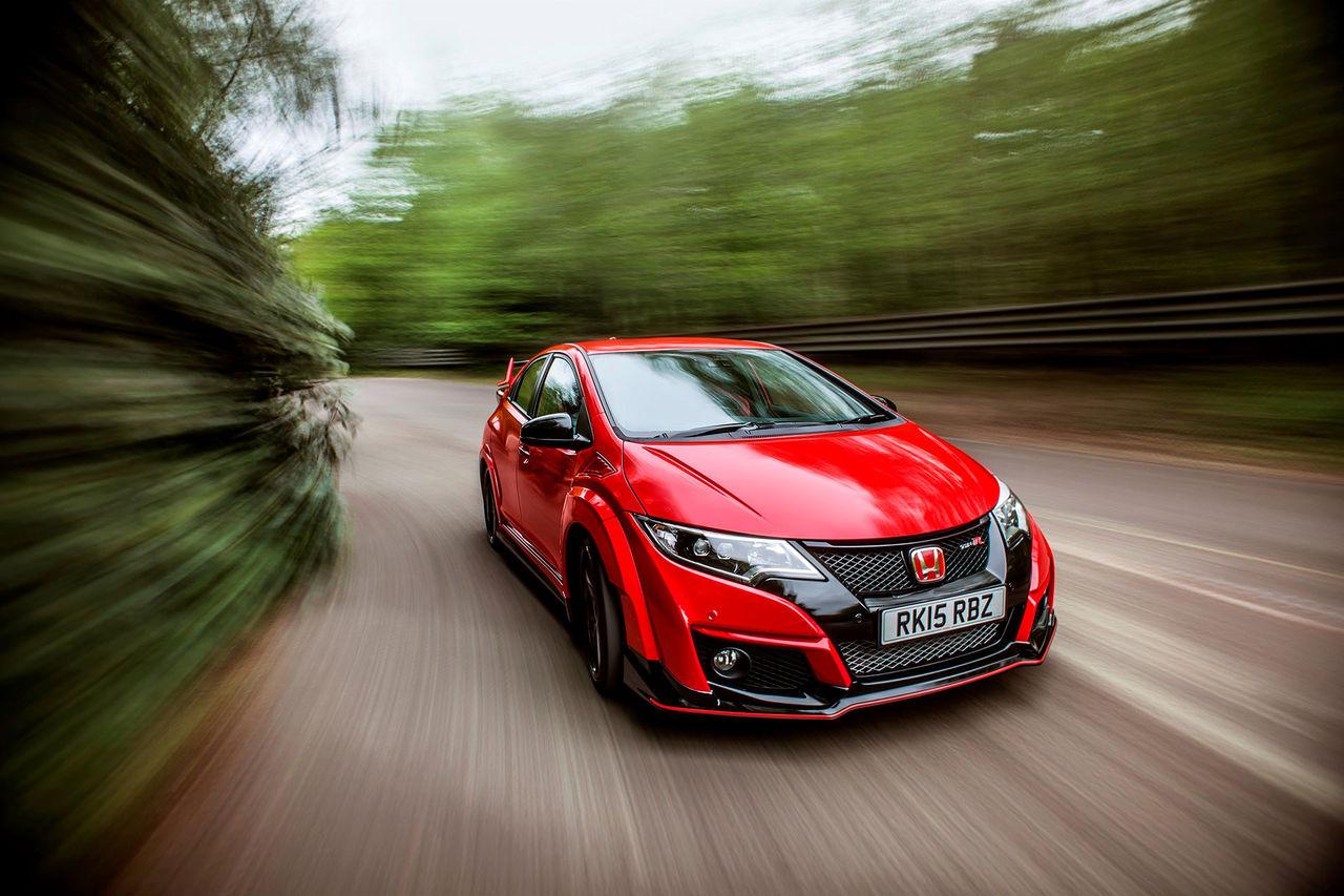 Nya bilder på Honda Civic Type R