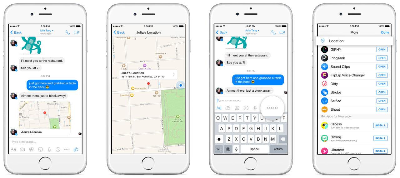 hitta mobil på karta Skicka karta med Facebook Messenger. Så att du blir lätt att hitta  hitta mobil på karta