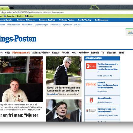 Nu flyttar Fredrik Neij tillbaka till Laos. The Pirate Bay-dömd intervjuad  av Jönköpings-Posten  e3f971be9aae7