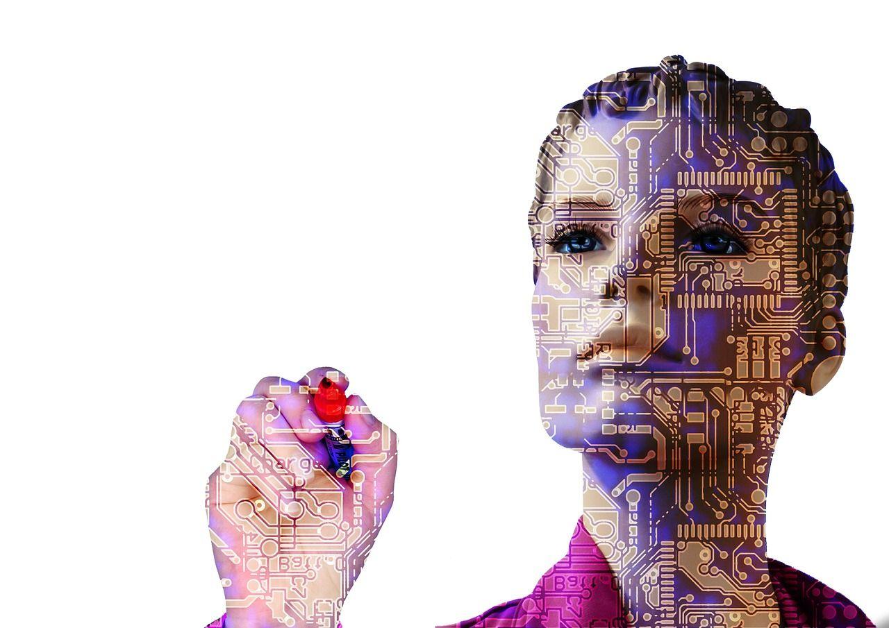 Robotlärare håller lektioner i Kina