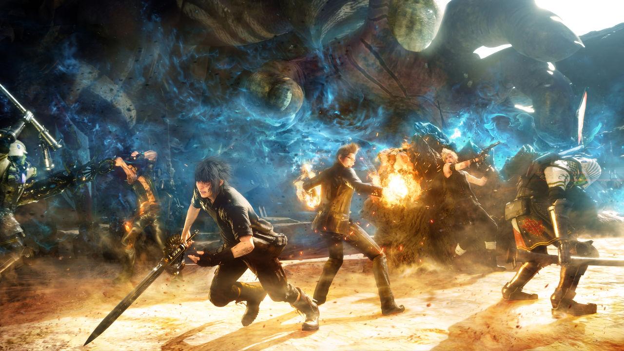 Final Fantasy XV: Episode Duscae uppdaterat