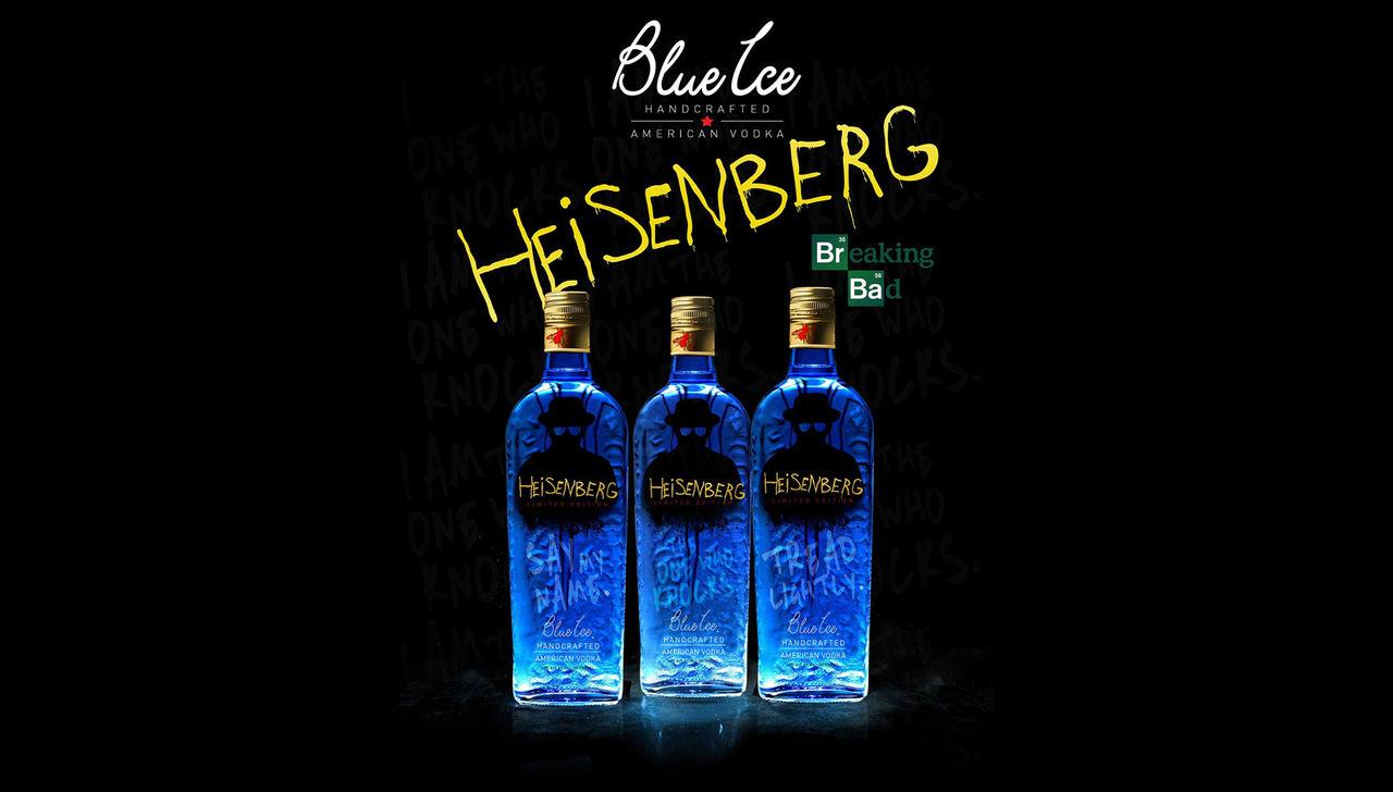 Vodka inspirerad av serien Breaking Bad
