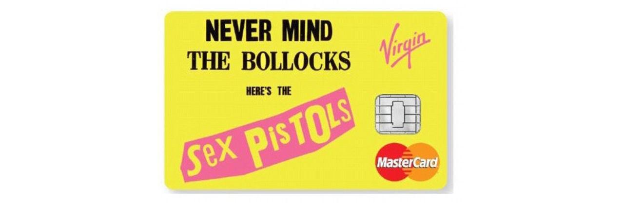 Brittisk banktjänst släpper bankkort med Sex Pistols-motiv