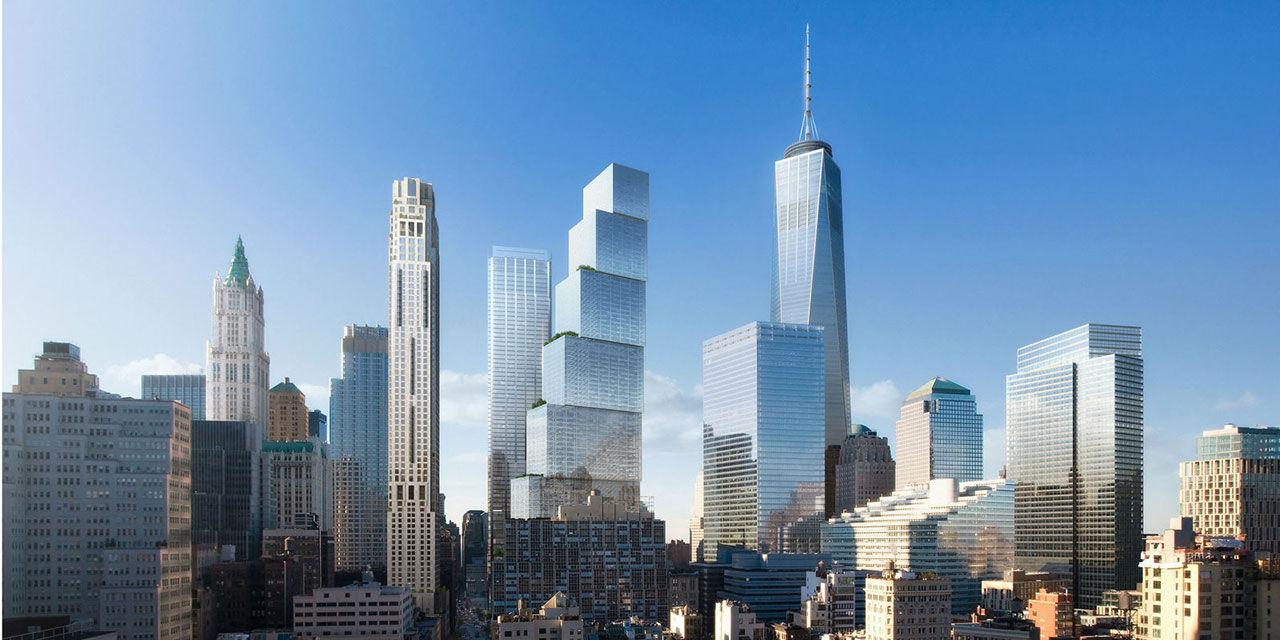 Dansken Bjarke Ingels designar 2 World Trade Center