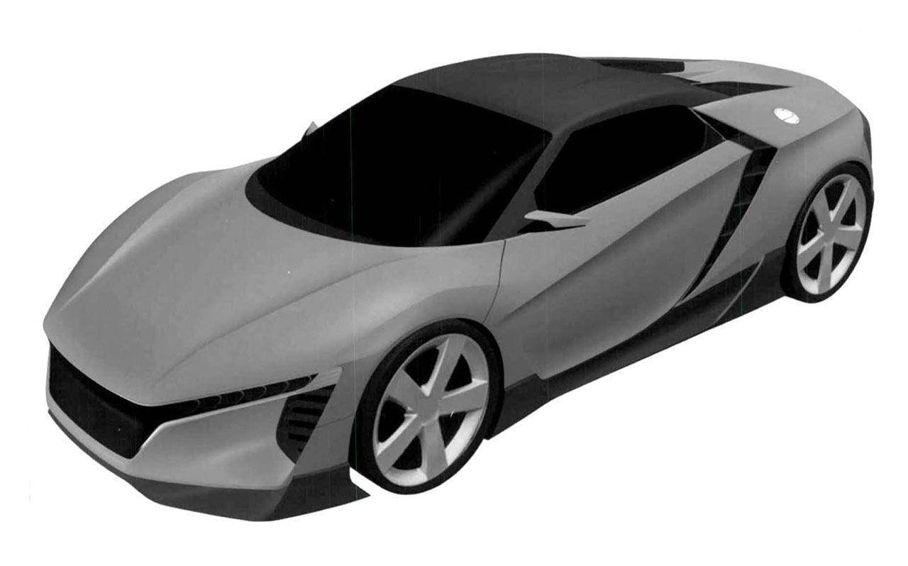 Patentritningar kan visa Hondas S2000-ersättare