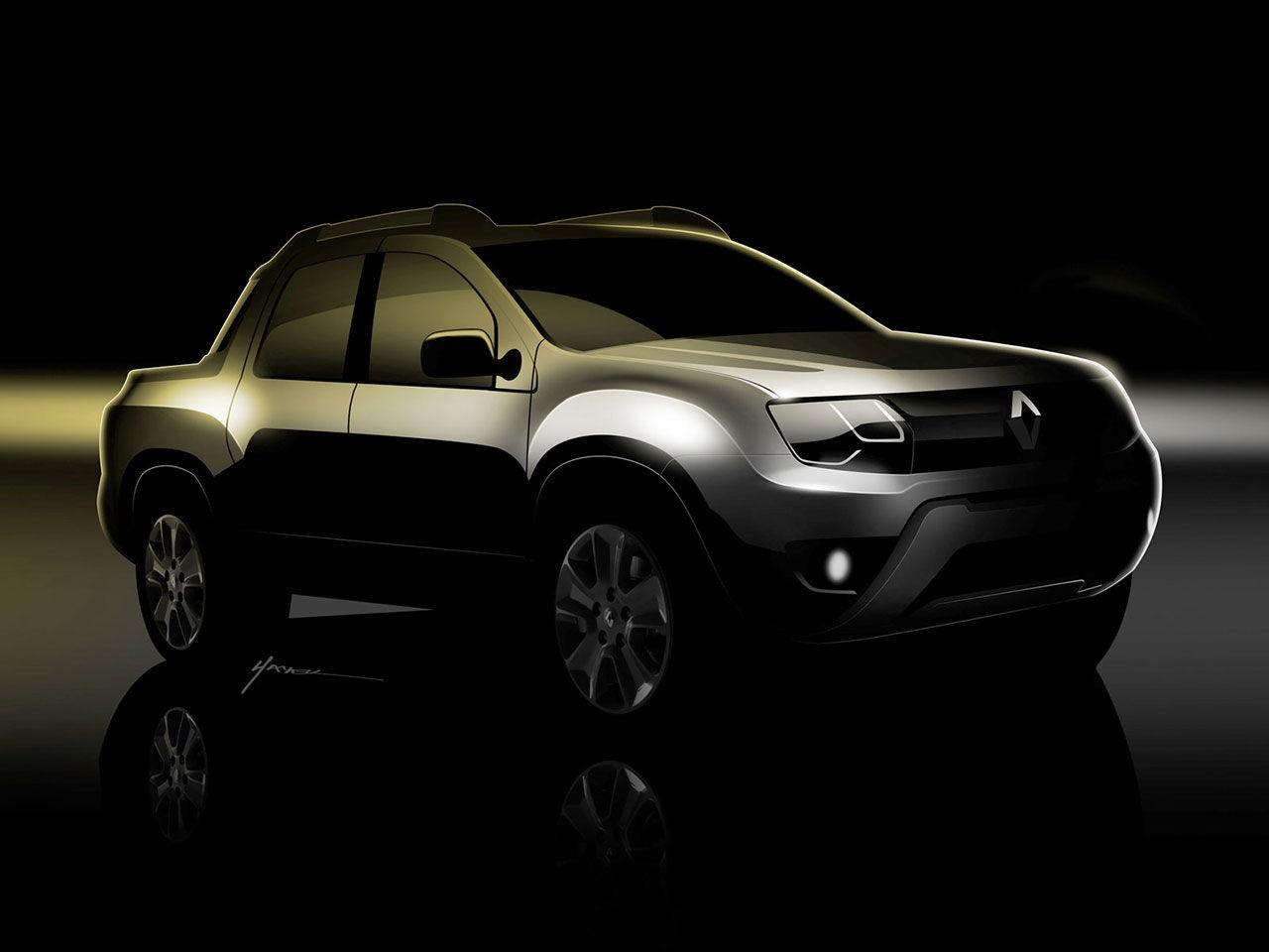 Oroch - Renaults första pickup