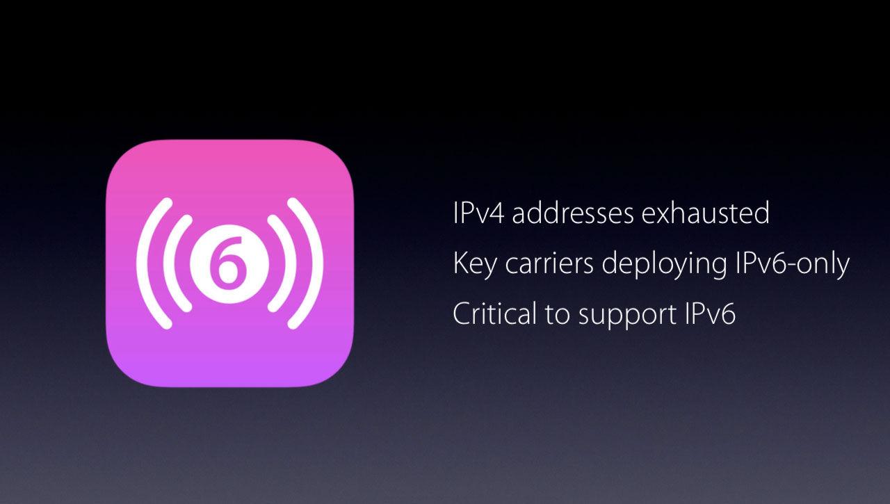 Stöd för IPv6 ett krav för alla appar i iOS 9