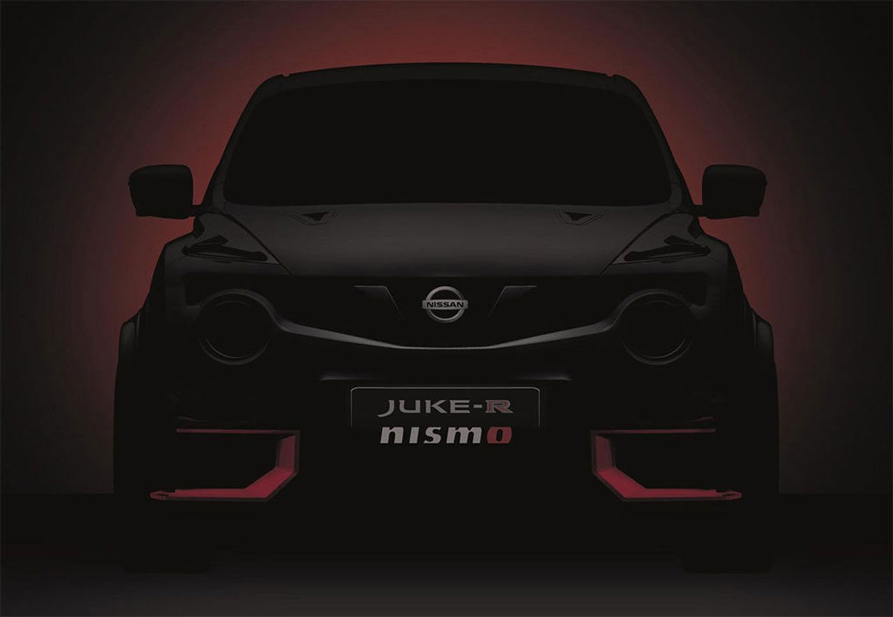 Nissan teasar Juke-R Nismo