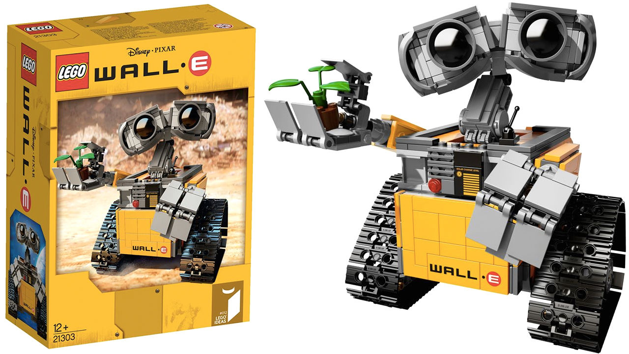 Första bilden på kommande Wall-e-lego
