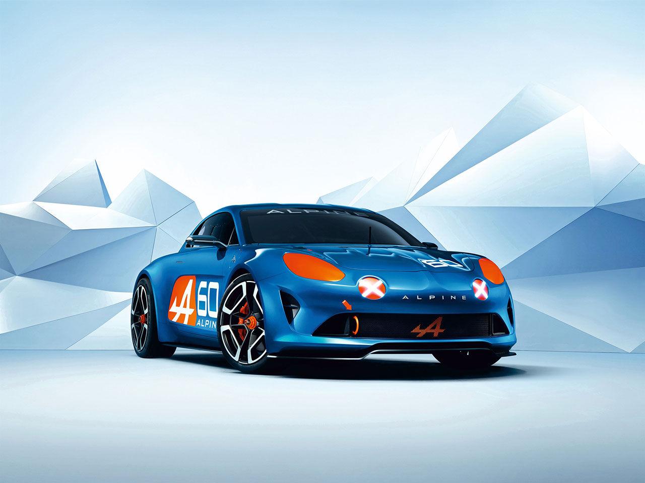 Renault visar konceptbilen Alpine Celebration