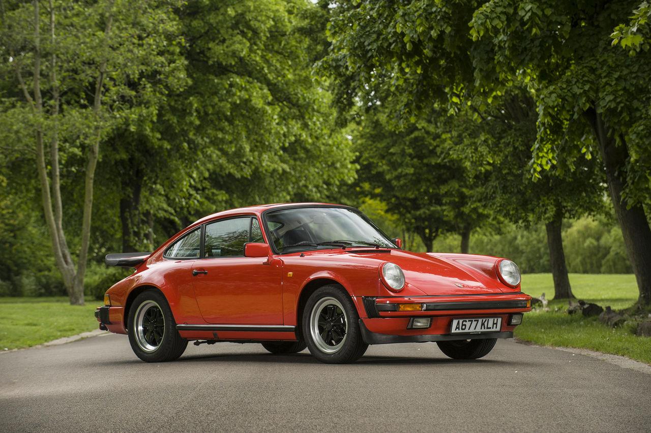 James Mays Porsche 911 från 1984 auktioneras ut