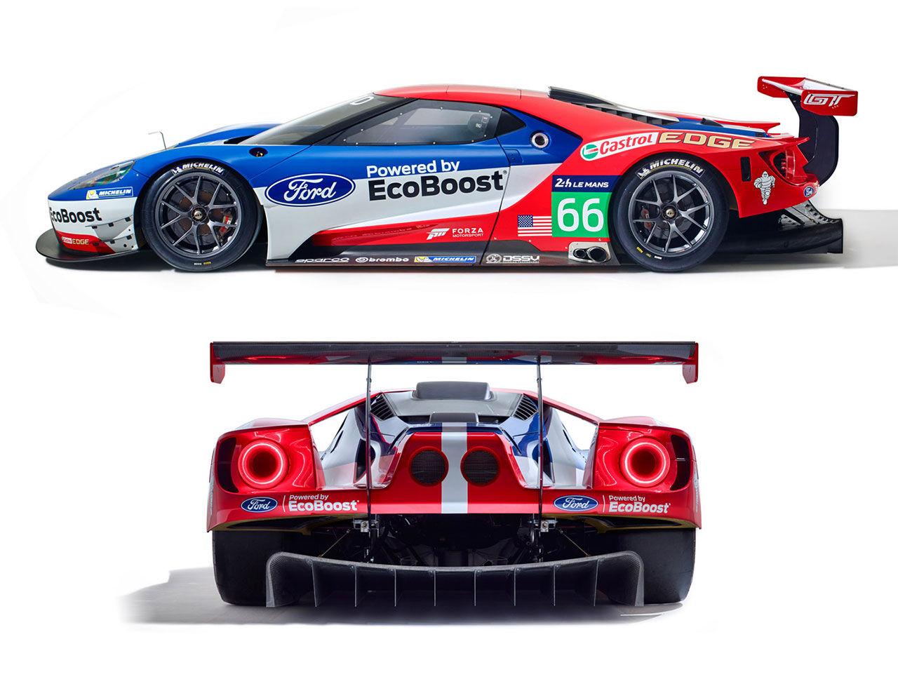 Ford återvänder till Le Mans med sin GT