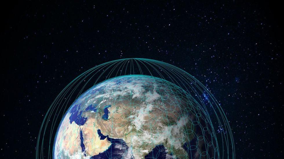 Airbus bygger jättenätverk med satelliter