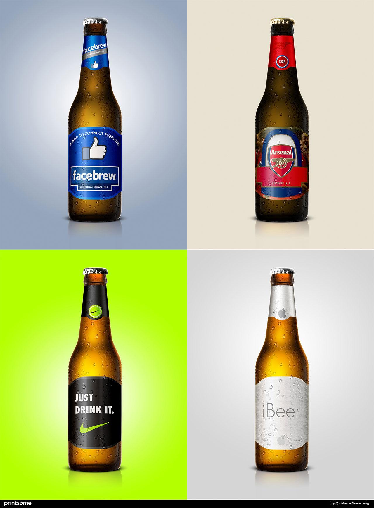 Om kalla företag gjorde kalla öl