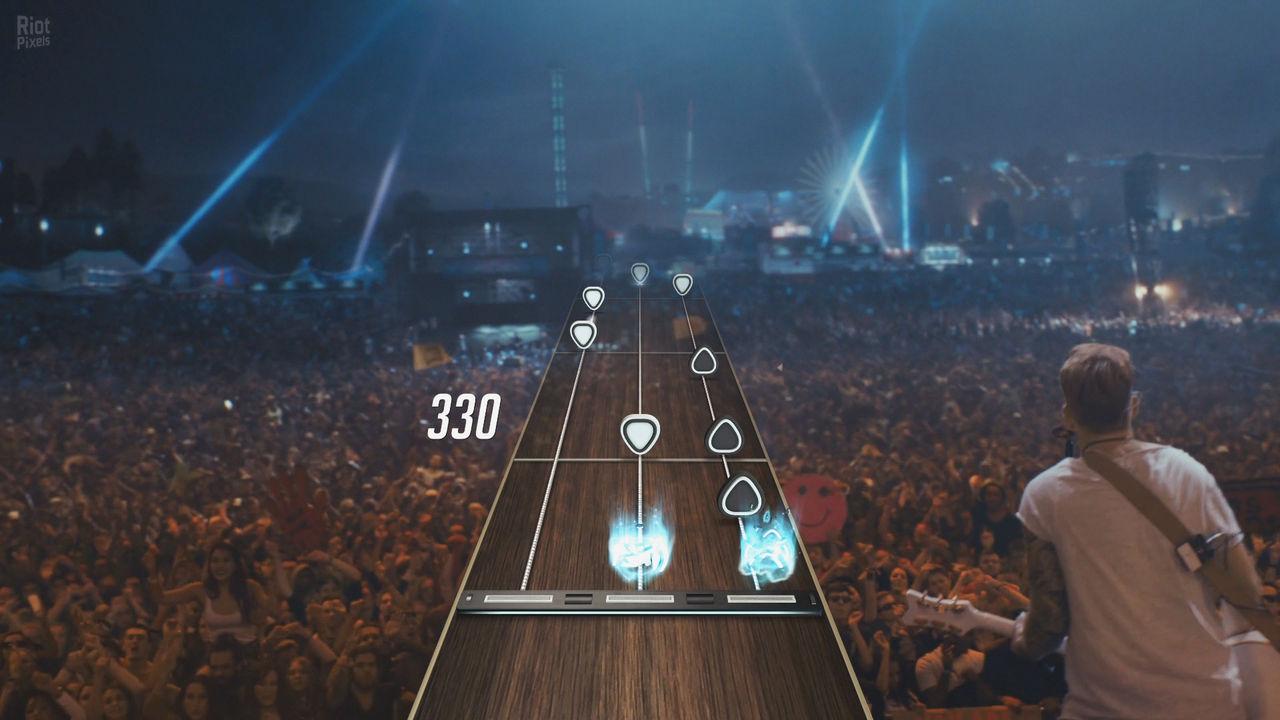 Guitar Hero TV erbjuder en massa musik att spela till