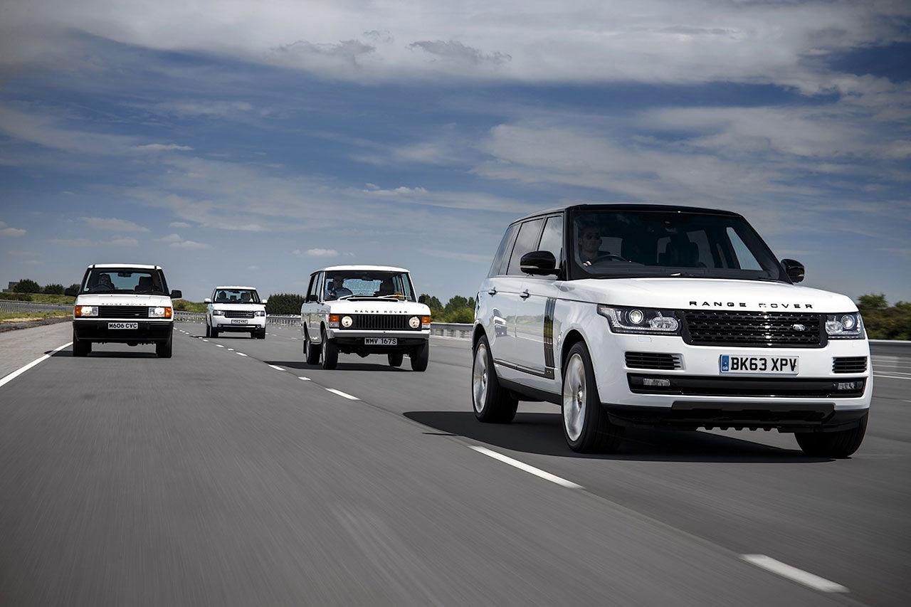 Range Rover fyller 45 år i dag!