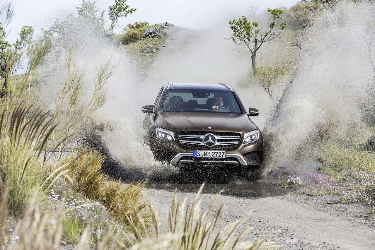 Mercedes presenterar GLC