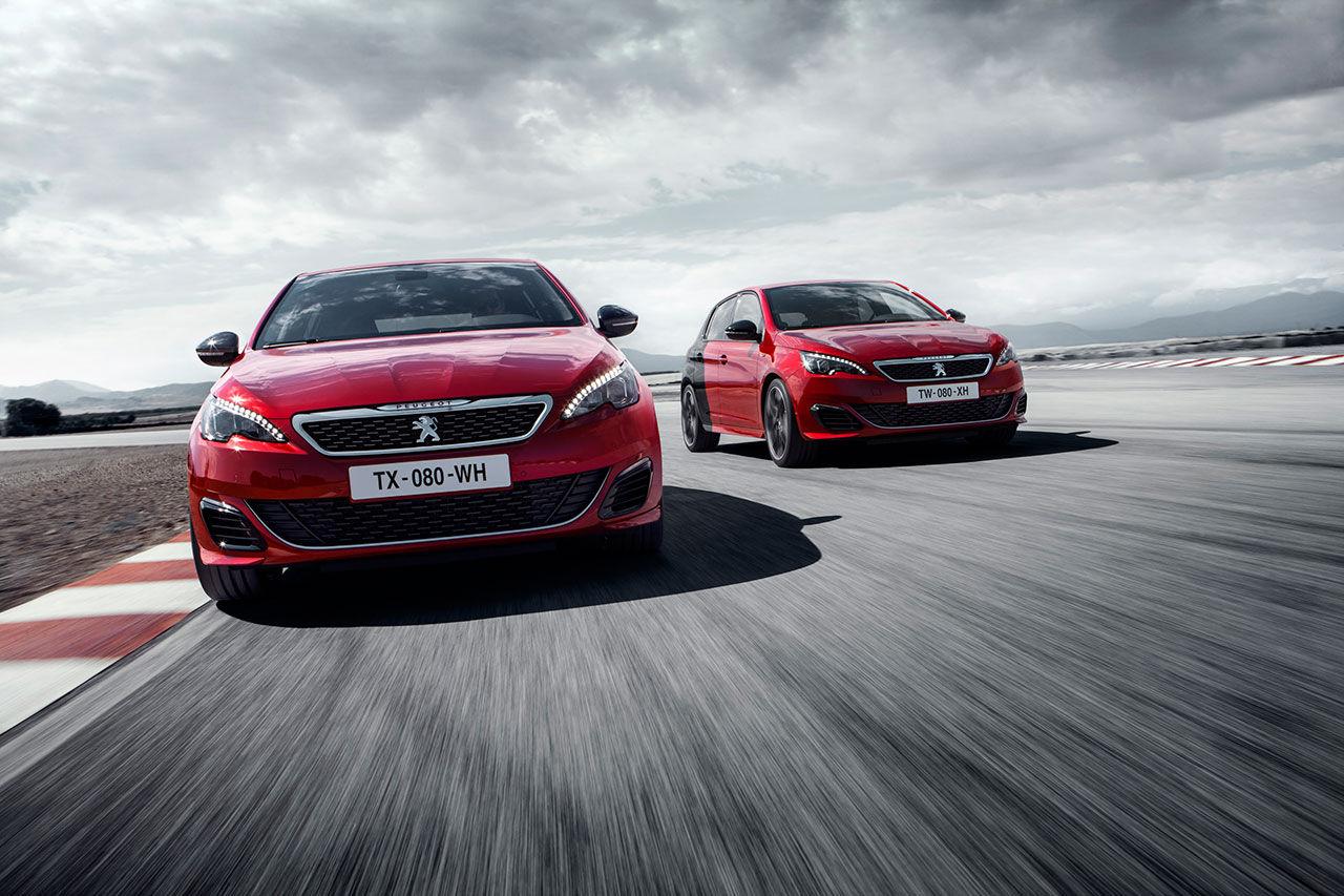 Peugeot presenterar 308 GTi