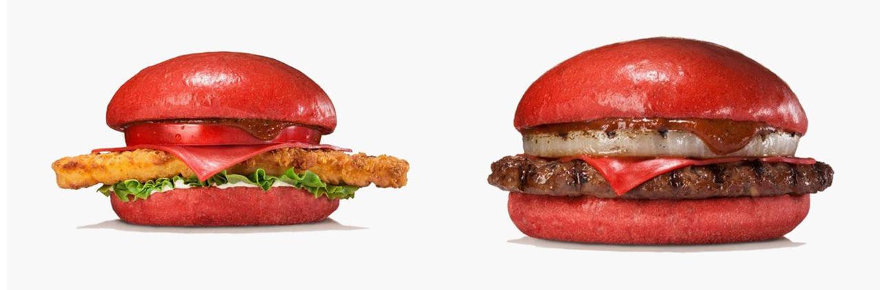 Burger King Japan börjar med röda burgare
