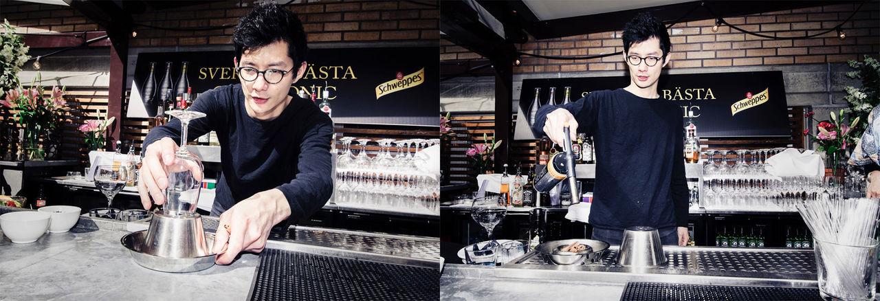 Puran Chen är bäst i Sverige på att göra Gin & Tonic