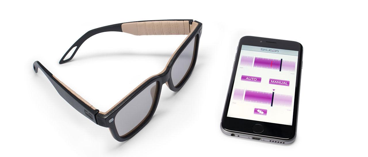 Skugga är ett par uppkopplade solglasögon