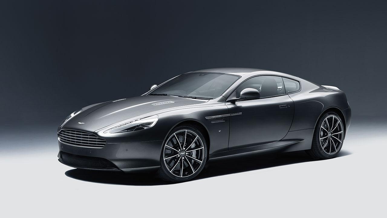 Aston Martin presenterar DB9 GT