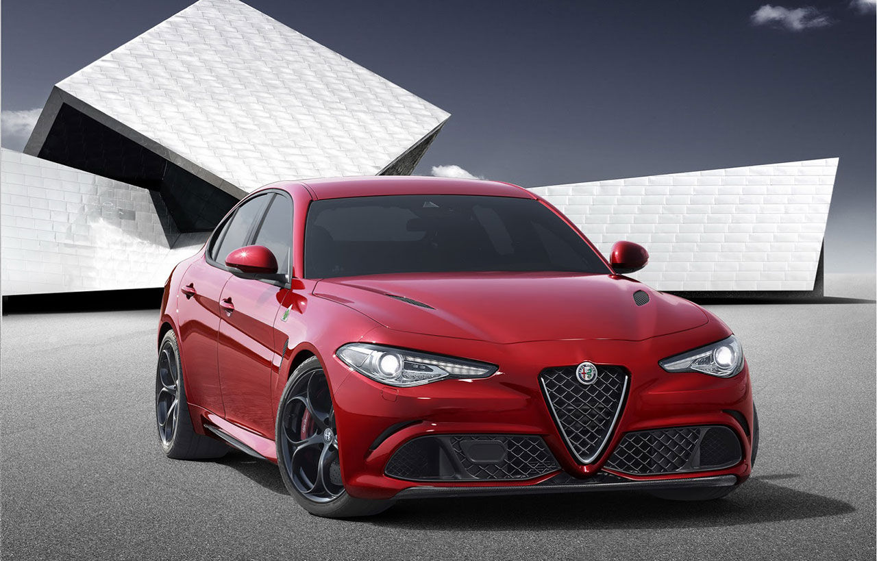 Alfa Romeo presenterar en riktig bomb - nya Giulia