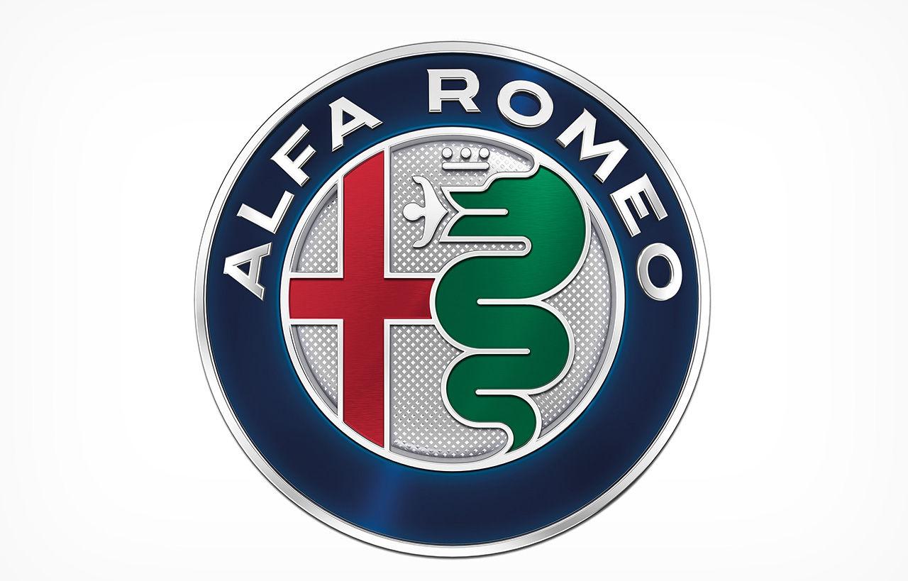 Så här ser Alfa Romeos nya emblem ut