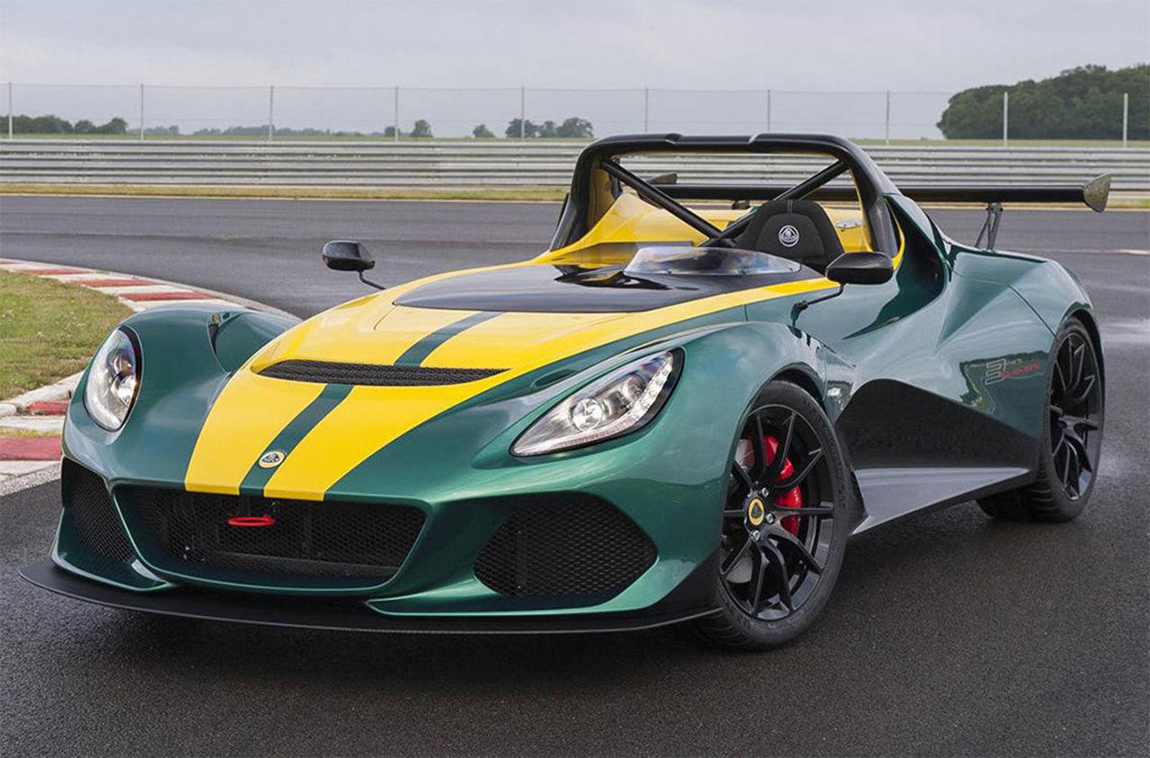 Lotus presenterar 450 hästar starka 3-Eleven