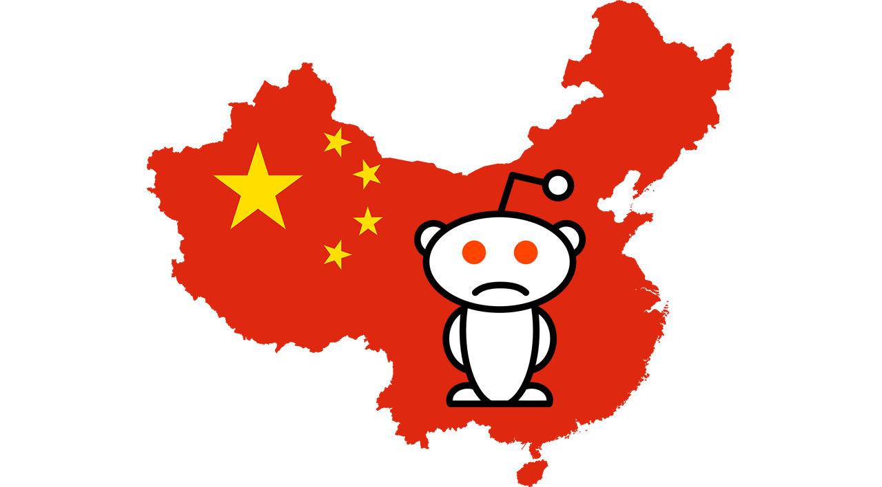 Reddit blockeras i Kina