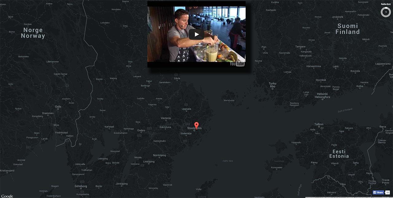 Youtube Map Explorer låter dig hitta videor med karta
