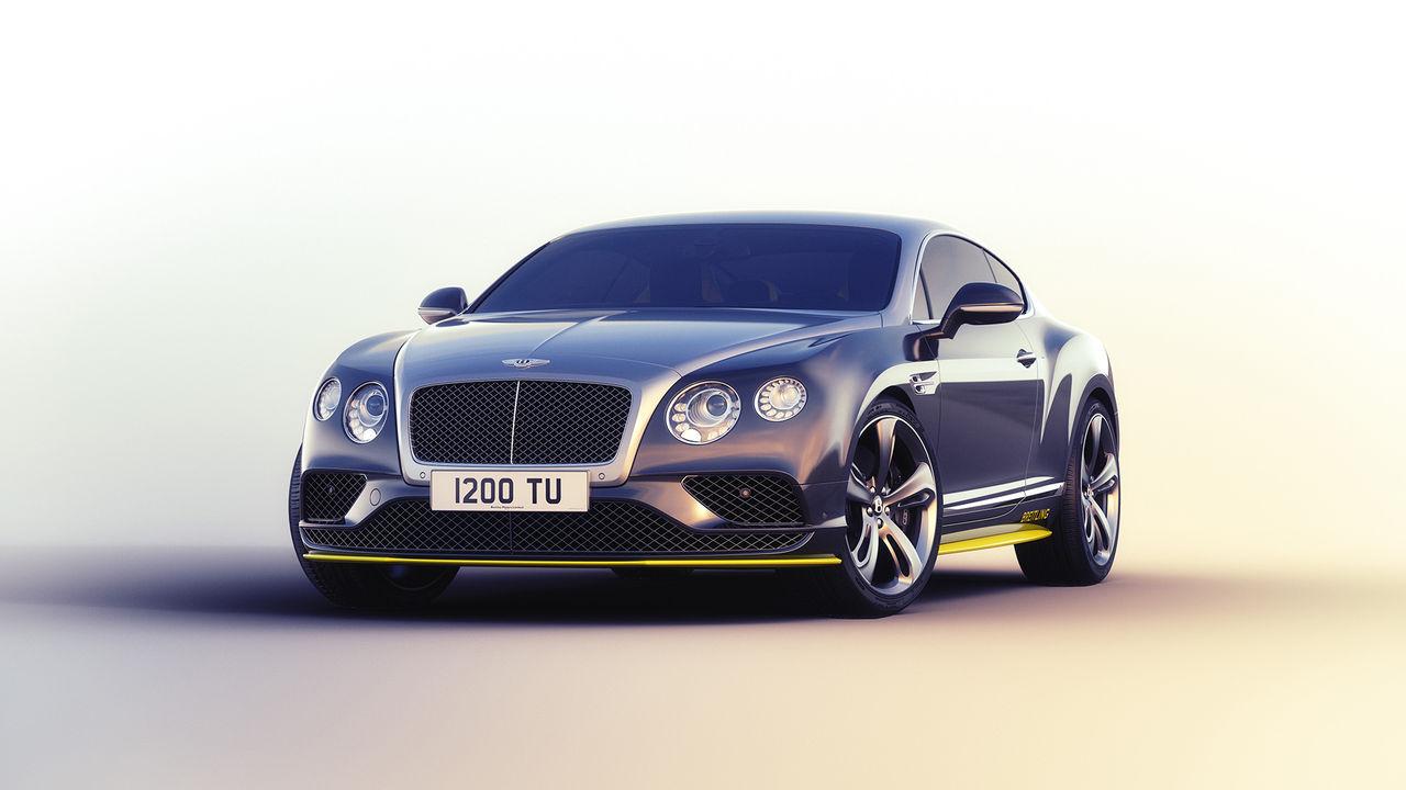 Bentley hyllar Breitling Jet Team