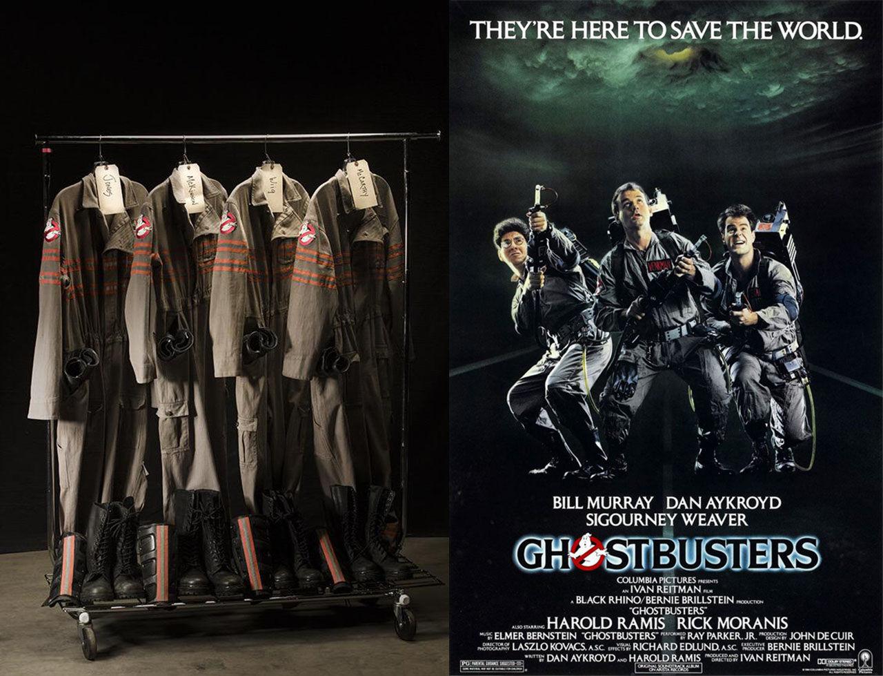 Ghostbuster-regissören visar upp de nya spökjägardräkterna