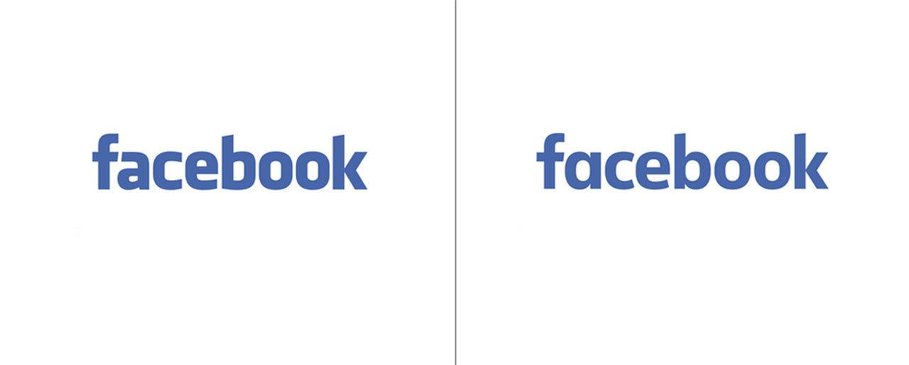 Facebook byter logotyp