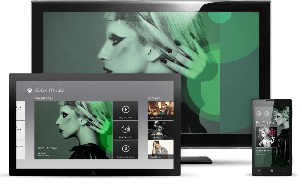 Xbox Music heter nu Groove Music