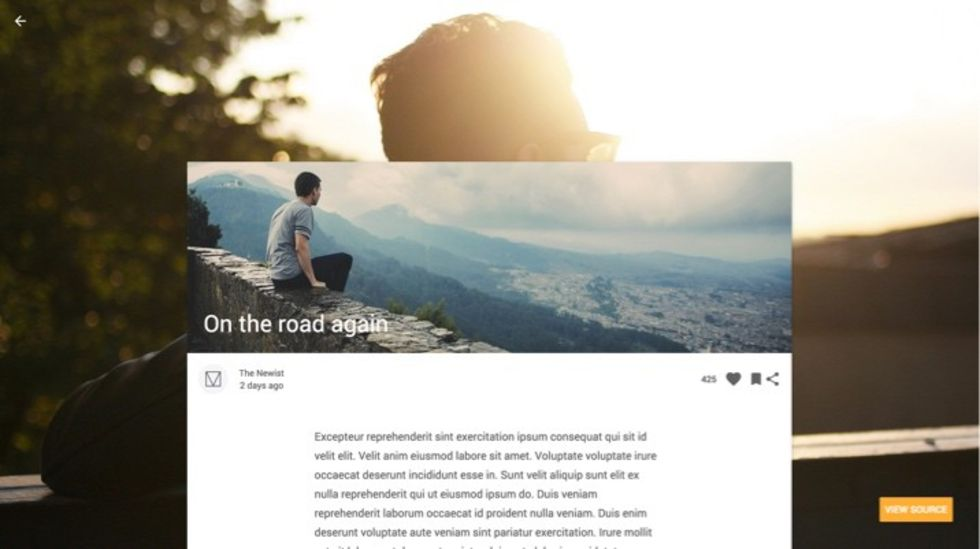 Google lanserar formspråket Material Design Lite